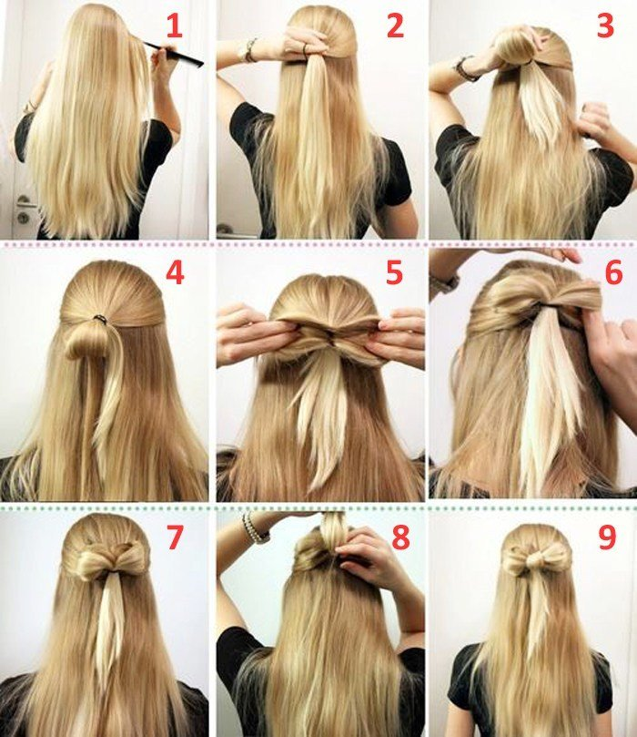 New 10 Quick And Easy Hairstyles Step By Step – The Learnify Ideas With Pictures