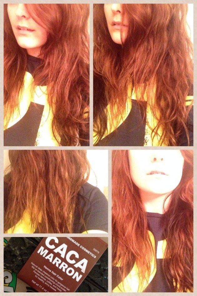 New Review Tutorial Lush C*C* Marron Henna Hair Dye Diy Ideas With Pictures