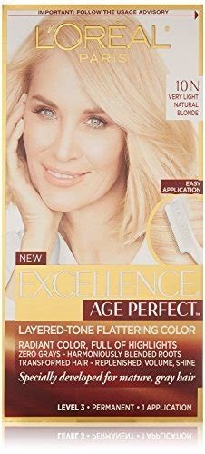 New L'oreal Excellence Age Perfect Hair Color Review I Put Ideas With Pictures