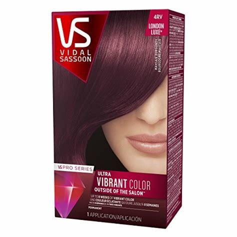 New Vidal Sassoon Pro Series London Luxe Hair Color Kit 4Rv Ideas With Pictures