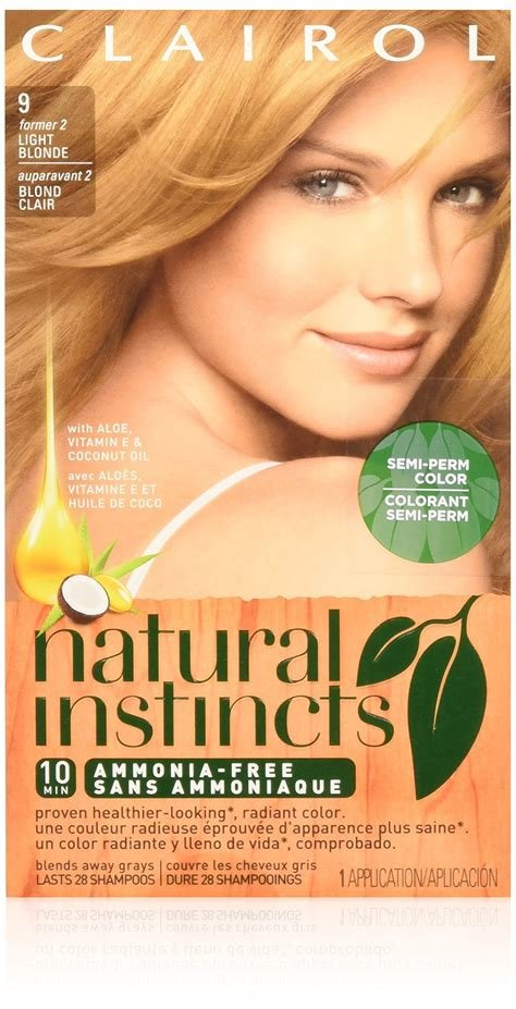 New Amazon Com Clairol Natural Instincts Hair Color Shine Ideas With Pictures