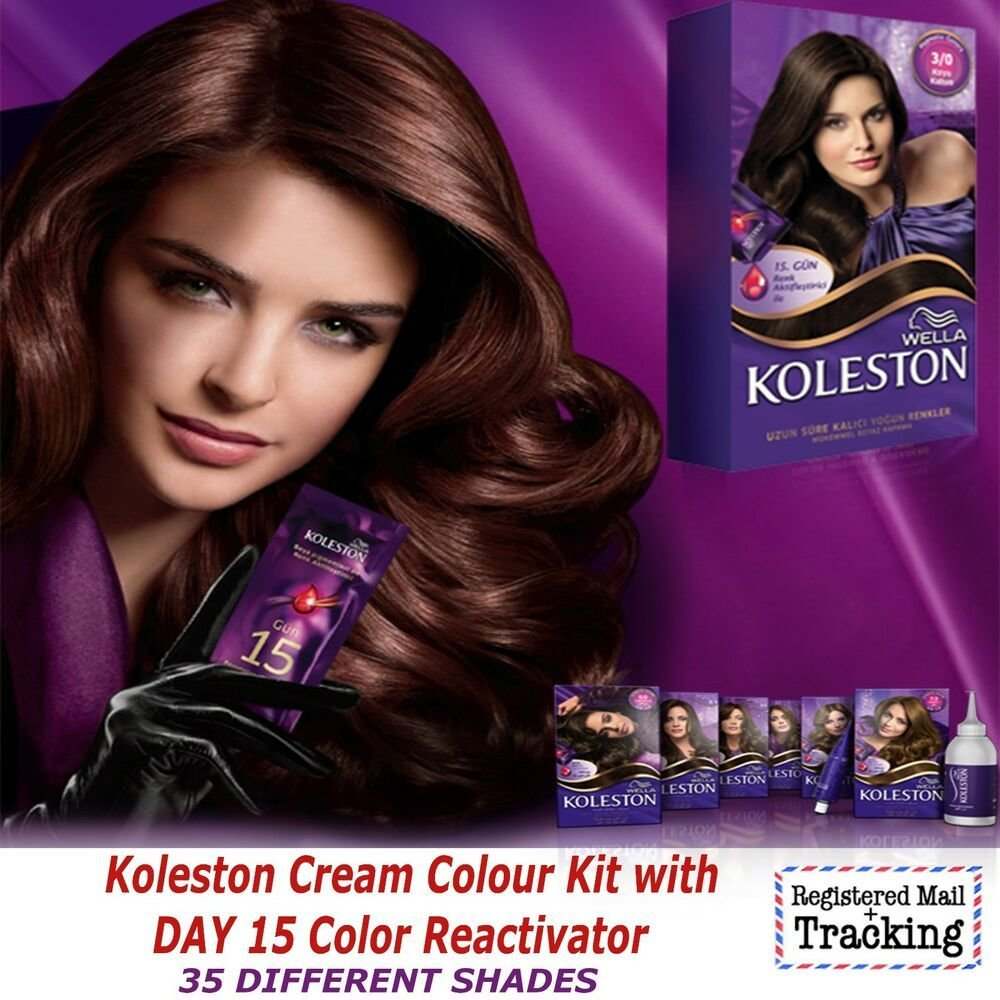 New Wella Koleston Hair Color Kit Intense Cream Kit Ideas With Pictures