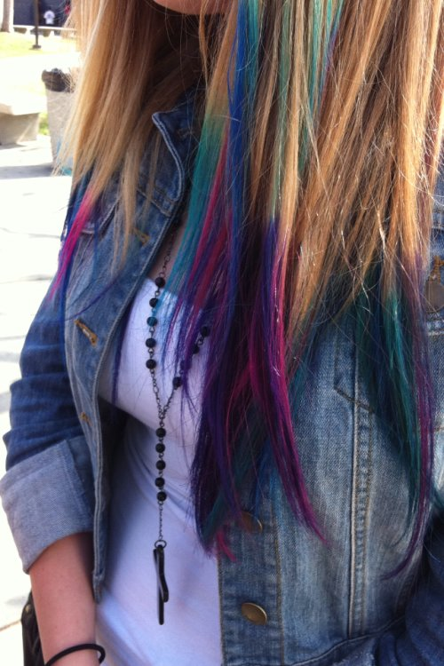 New Dyed Tips On Tumblr Ideas With Pictures