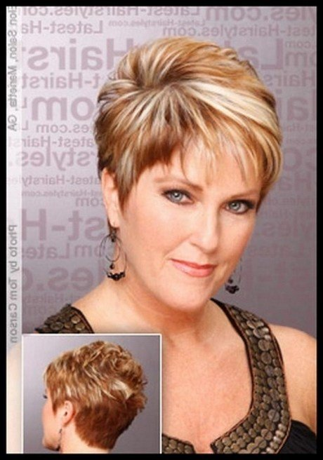 New Short Haircuts For Women Over 50 In 2019 Ideas With Pictures