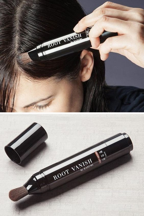 New Root Vanish Is An All Natural Temporary Hair Color For Ideas With Pictures
