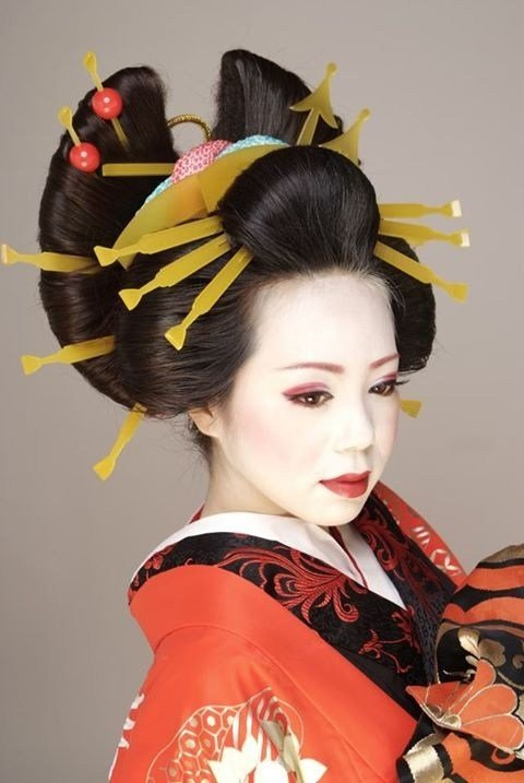 New Best 25 Geisha Hair Ideas On Pinterest Ideas With Pictures