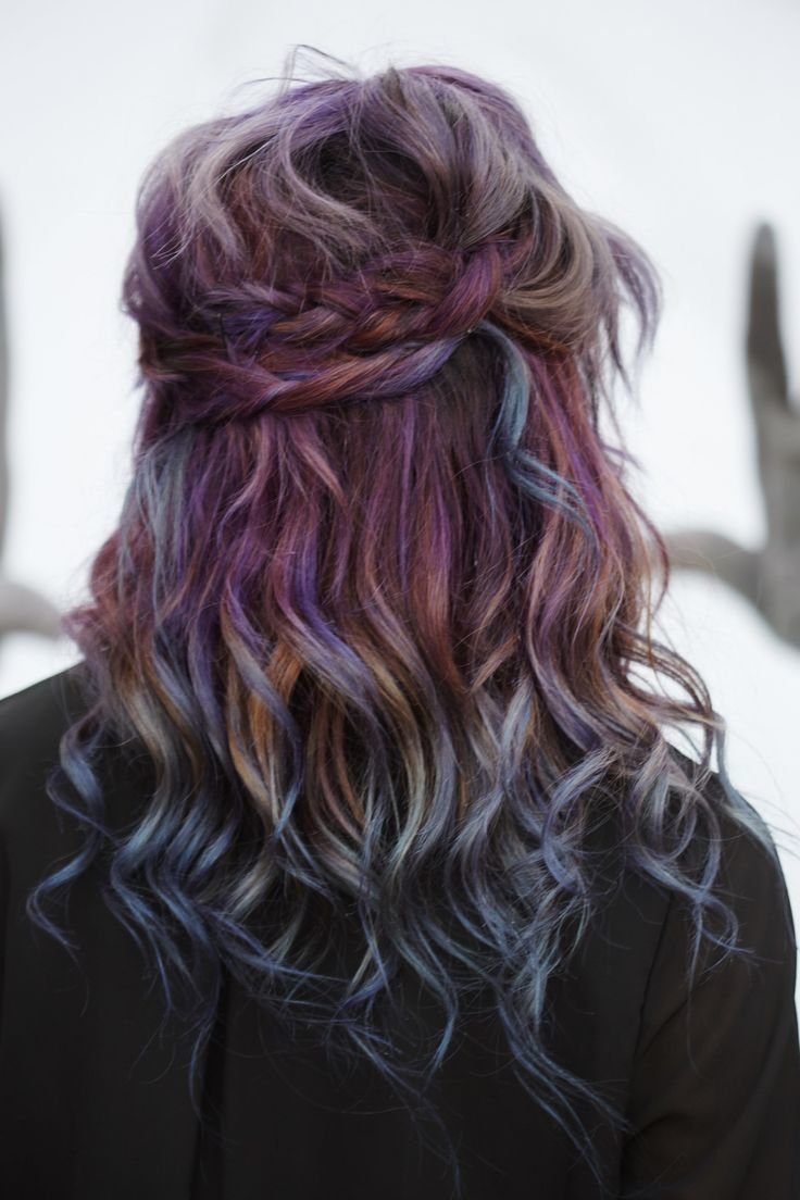 New 30 Best Oil Slick Petrol Hair Images On Pinterest Ideas With Pictures