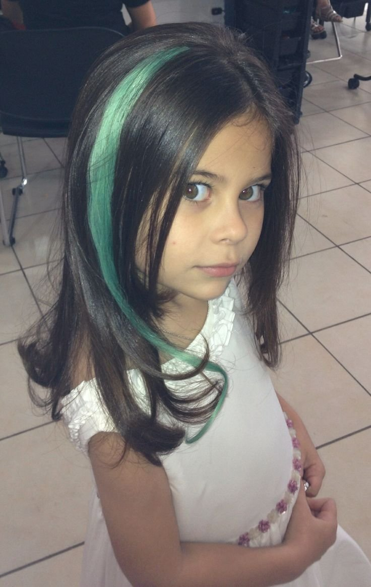 New Colored Hair Extensions For Kids Kid With Style Pinterest Colored Hair Extensions Ideas With Pictures