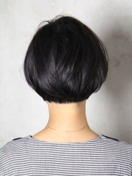 New Back Of Bob Cut Short Bob Cut Tapered And Styled Nicely Bob Pinterest Short Bob Cuts Ideas With Pictures