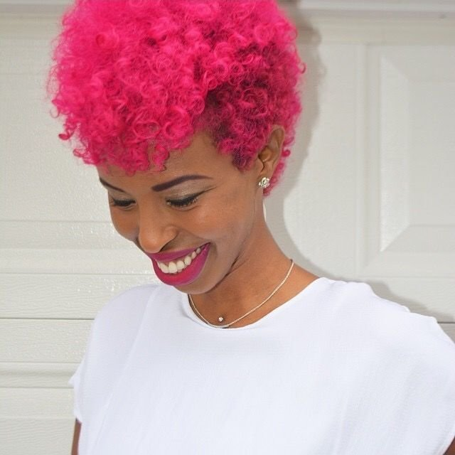 New 10 Best Images About A Splash Of Color Afro Hair On Ideas With Pictures