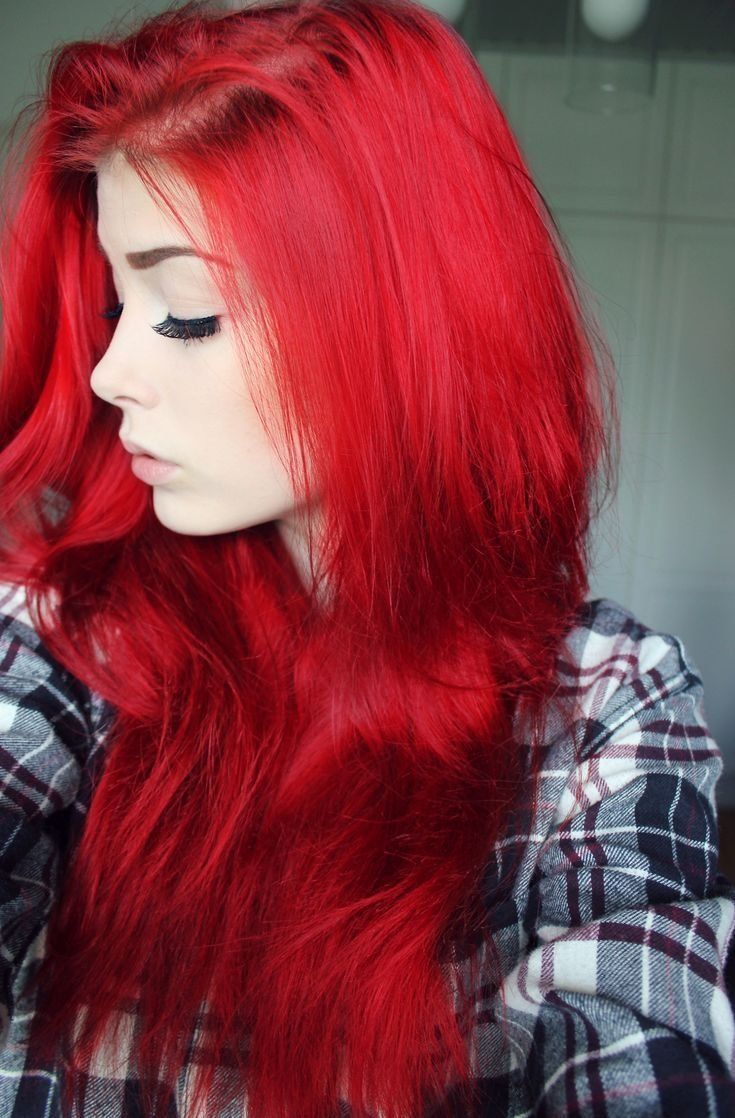 New 25 Best Ideas About Bright Red Hair On Pinterest Bright Red Hair Dye Bright Red Hairstyles Ideas With Pictures