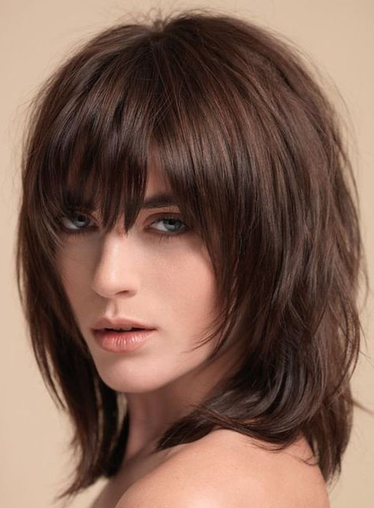 New 25 Best Ideas About Medium Sh*G Hairstyles On Pinterest Ideas With Pictures