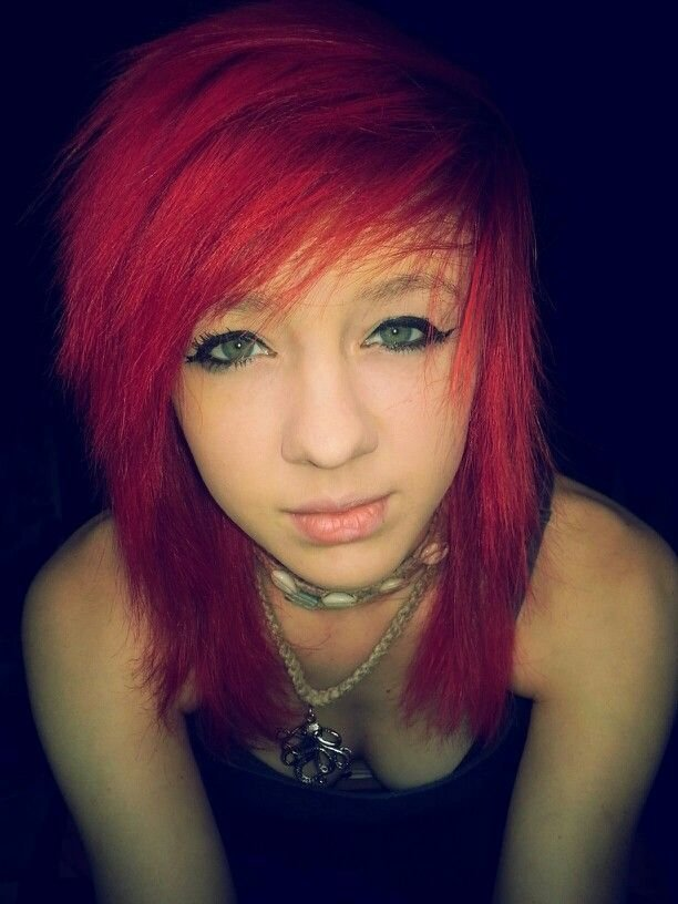 New Red Hair Dyed Hair Indie Scene Scene Hair Alternative Ideas With Pictures