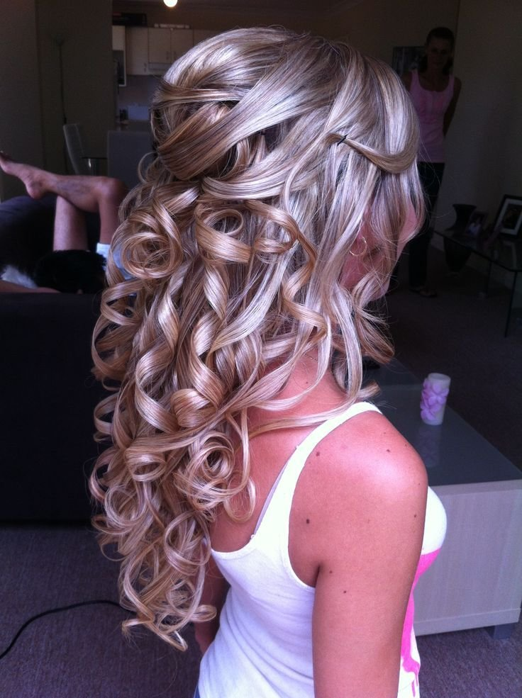New Half Updo Bridal Hairstyles By Anna Poshe Pinterest Ideas With Pictures