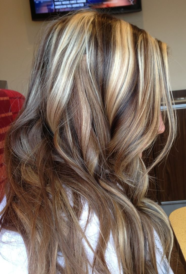 New Dark Brown Lowlights And Blonde Highlights Hair Ideas With Pictures