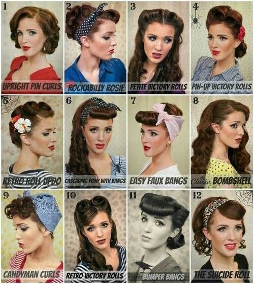 New 25 Best Ideas About Easy Vintage Hairstyles On Pinterest Ideas With Pictures