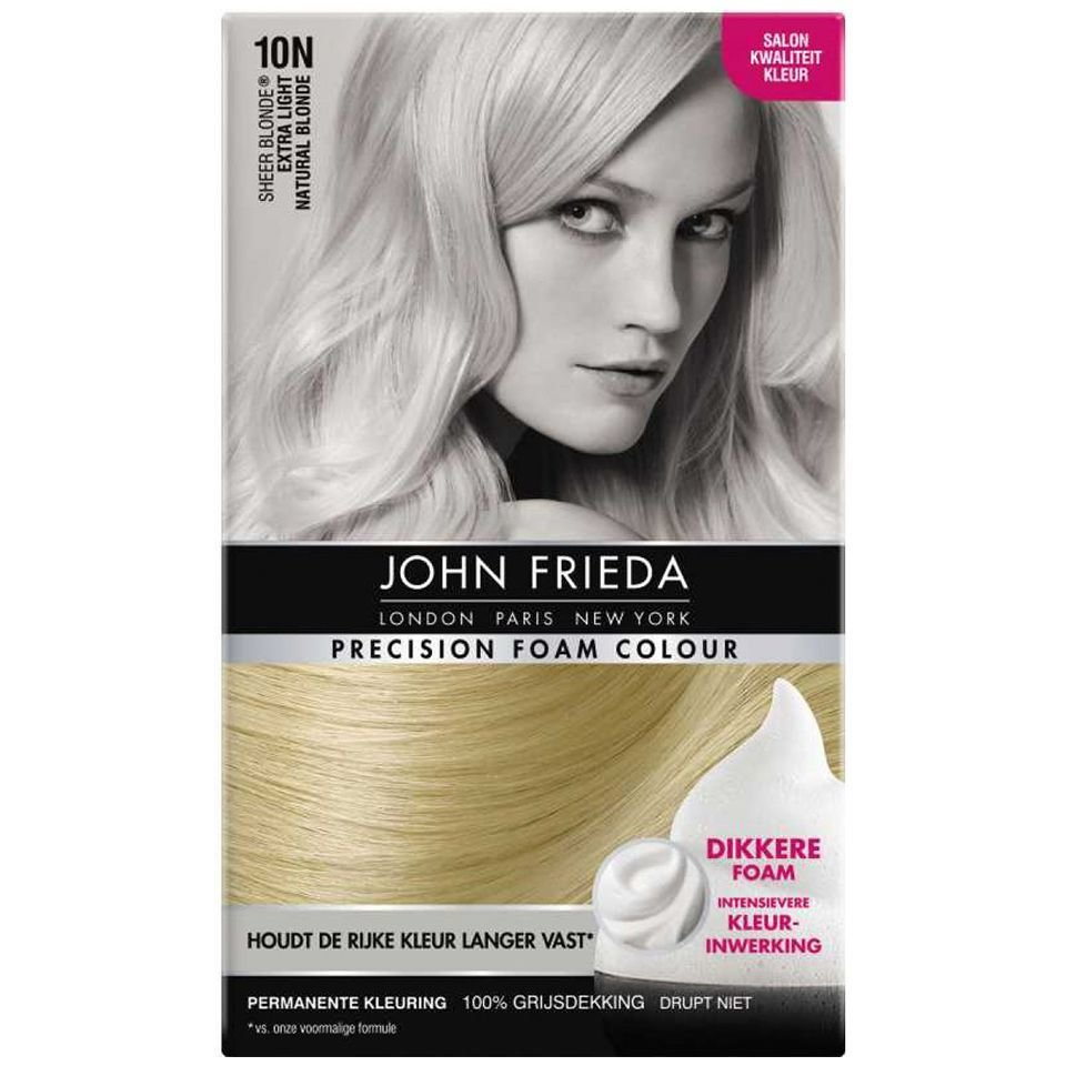 New John Frieda Precision Foam 10N Light Natural Blond Https Ideas With Pictures