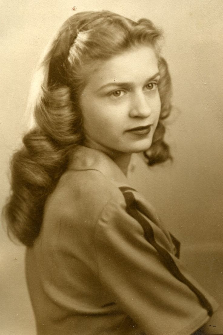 New 1940 S Hair Google Search Vintage Pinterest 40S Ideas With Pictures