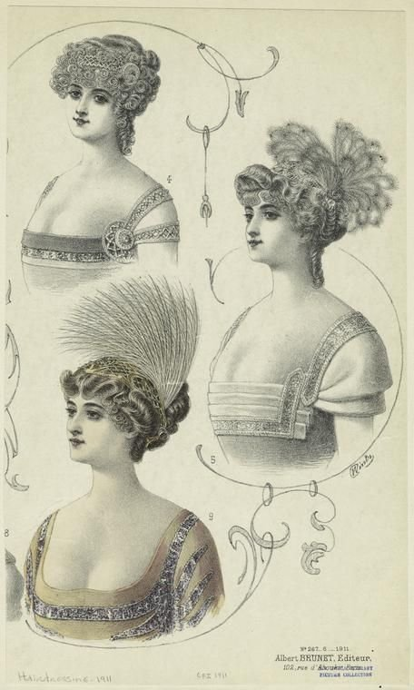 New Hairstyles For Women France 1910S 1911 If These Ideas With Pictures