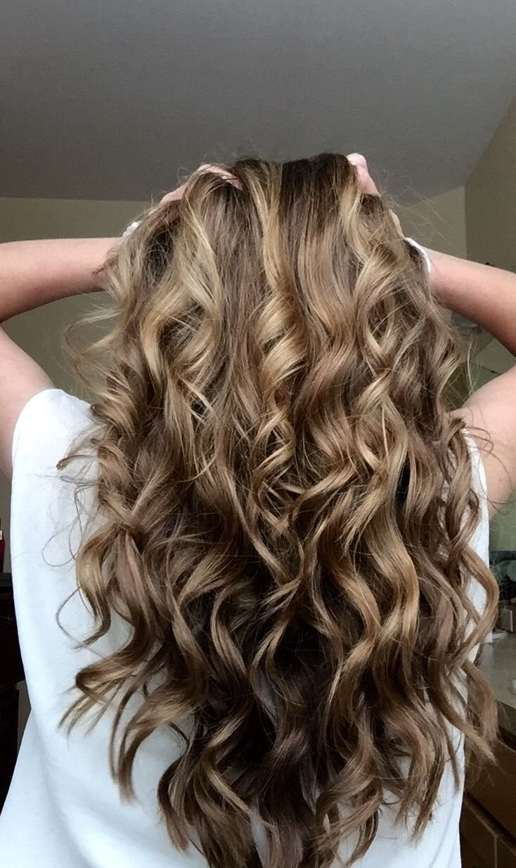 New Curled Hair With A Wand H A I R Pinterest Wand Hair Ideas With Pictures