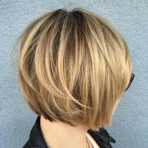 New 40 Layered Bob Styles Modern Haircuts With Layers For Any Ideas With Pictures