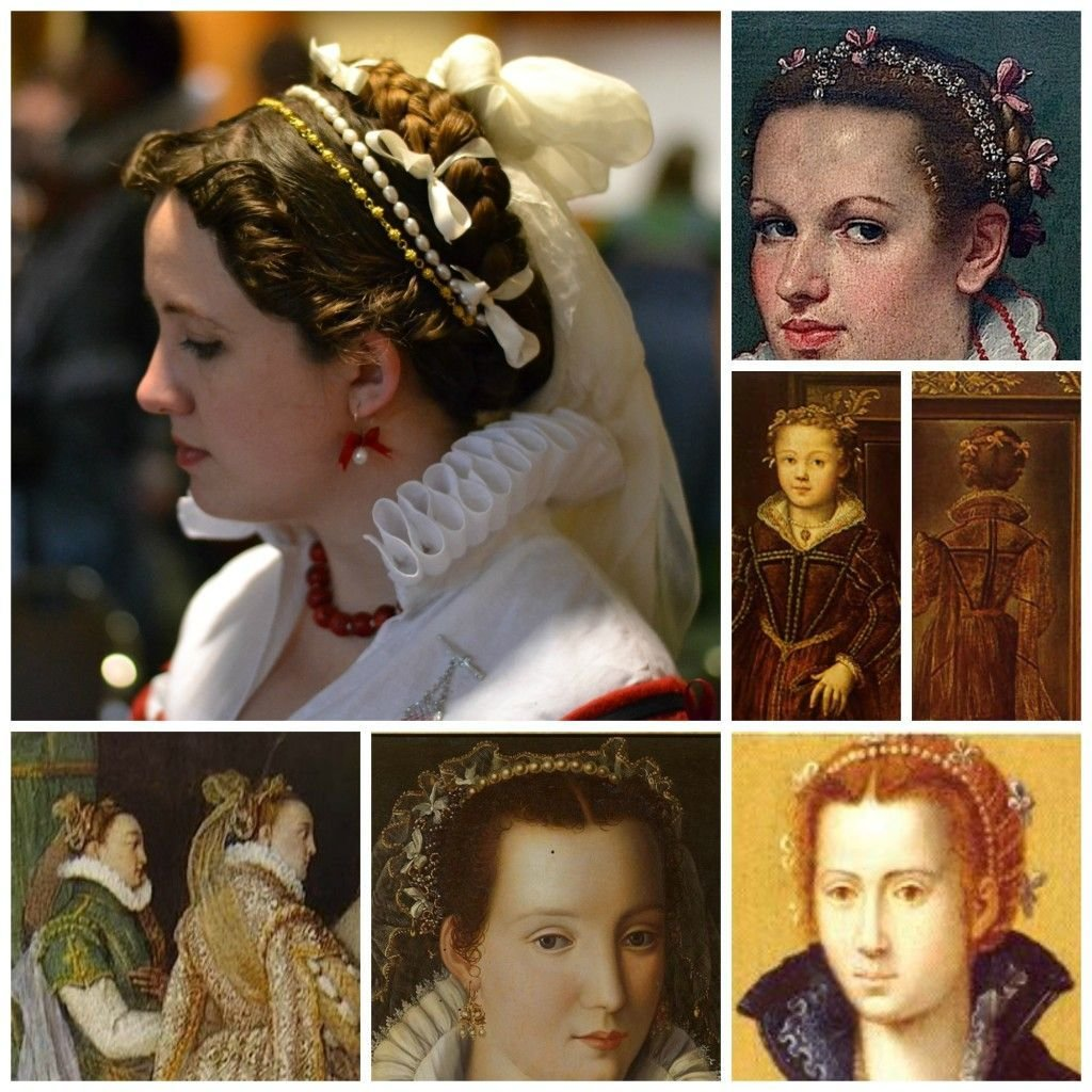 New 16Th Century Italian Braids And Curls On Morgandonner Com Ideas With Pictures