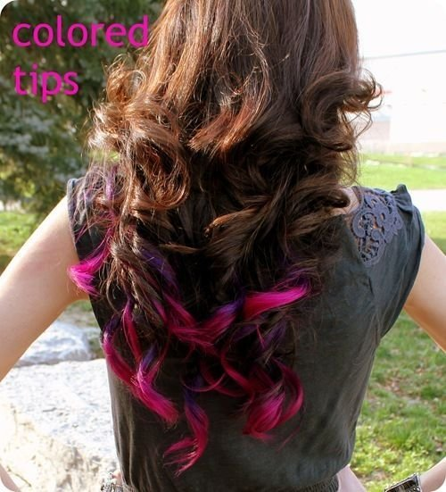 New Best 25 Colored Hair Tips Ideas On Pinterest Dyed Tips Dip Dyed Hair And Dip Dye Hair Ideas With Pictures