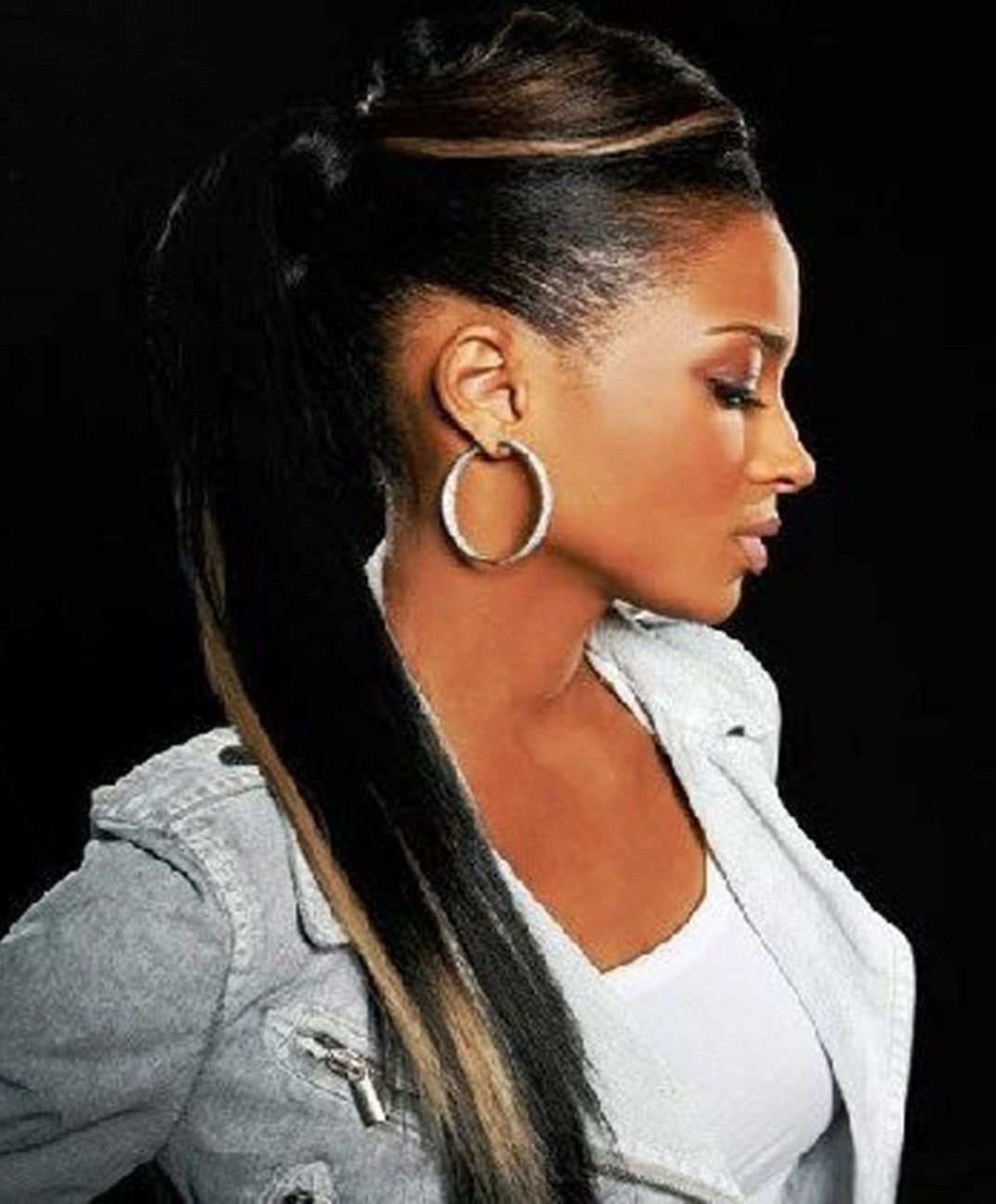 New Cool African American Weave Ponytail Hairstyles Jpg 1072 Ideas With Pictures Original 1024 x 768
