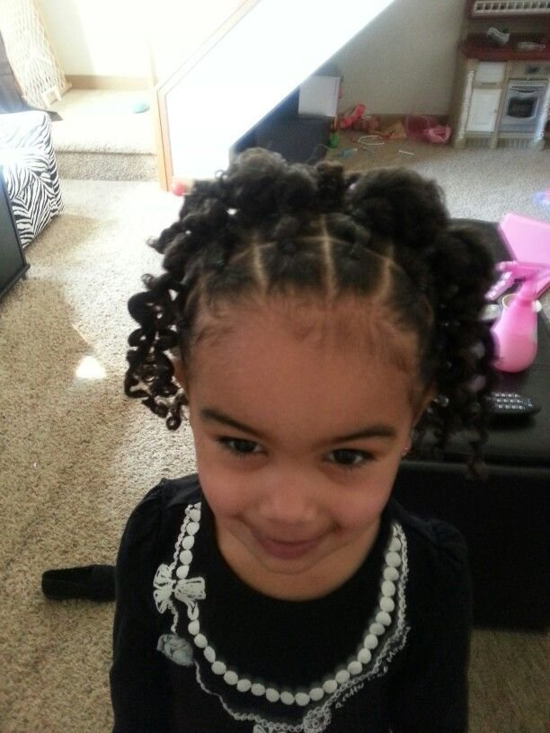 New Biracial Hair Hairstyles Toddler Hairstyles Curly Hair Mixed Girls Avayahs Hair Styles Ideas With Pictures