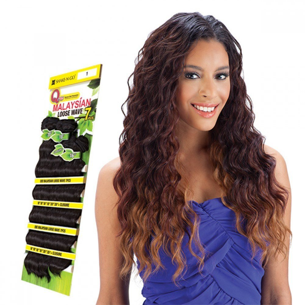 New Milkyway Que Weave – Malaysian Loose Wave 7Pcs Human Ideas With Pictures