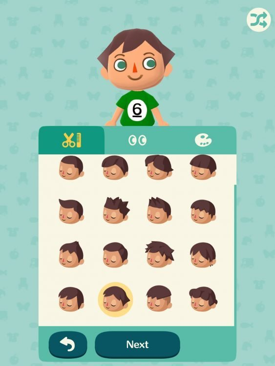 New Animal Crossing Pocket Camp All Faces Hairstyles For Boys Ideas With Pictures