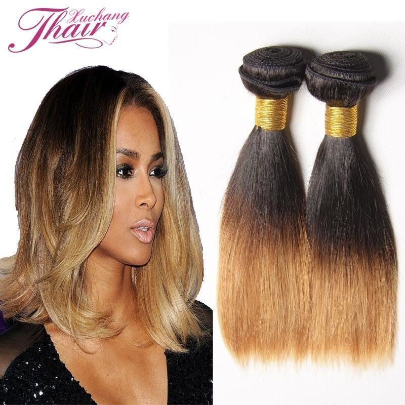 New Silky Straight Brazilian V*Rg*N Hair Weave Ombre 1B 30 Ideas With Pictures