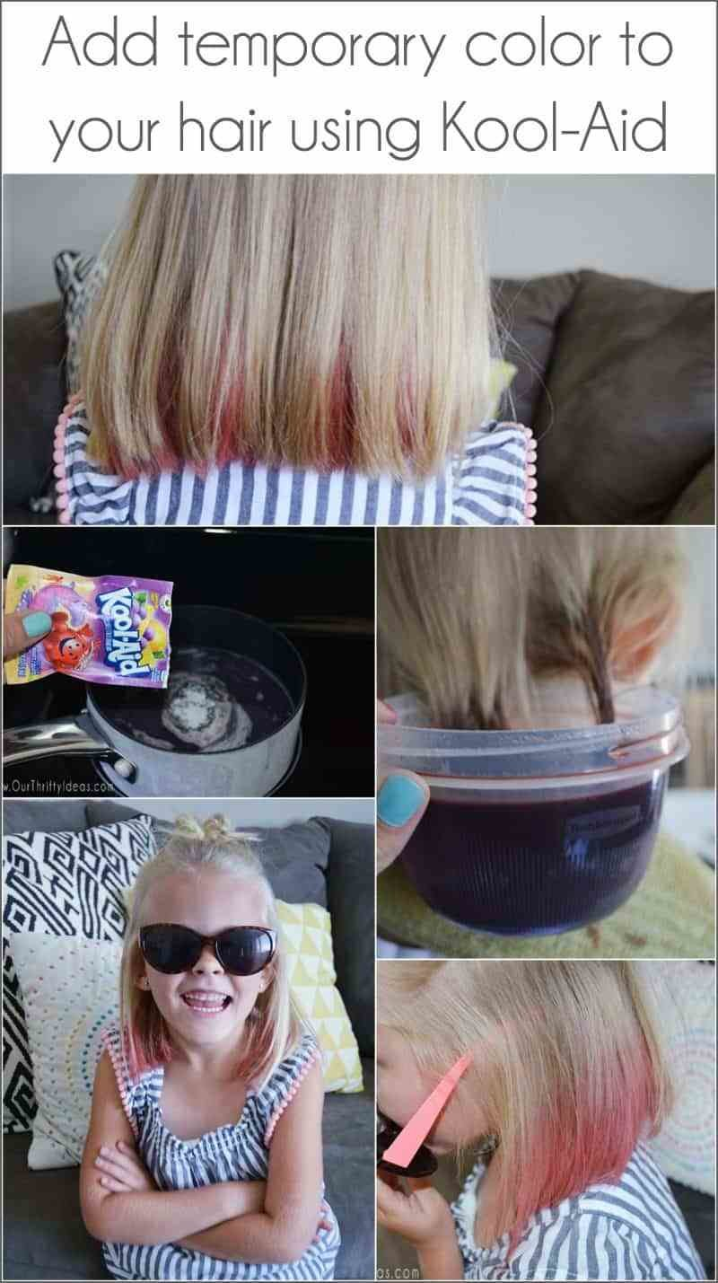 New How To Dye Your Hair With Kool Aid An Easy Way To Add Fun Ideas With Pictures