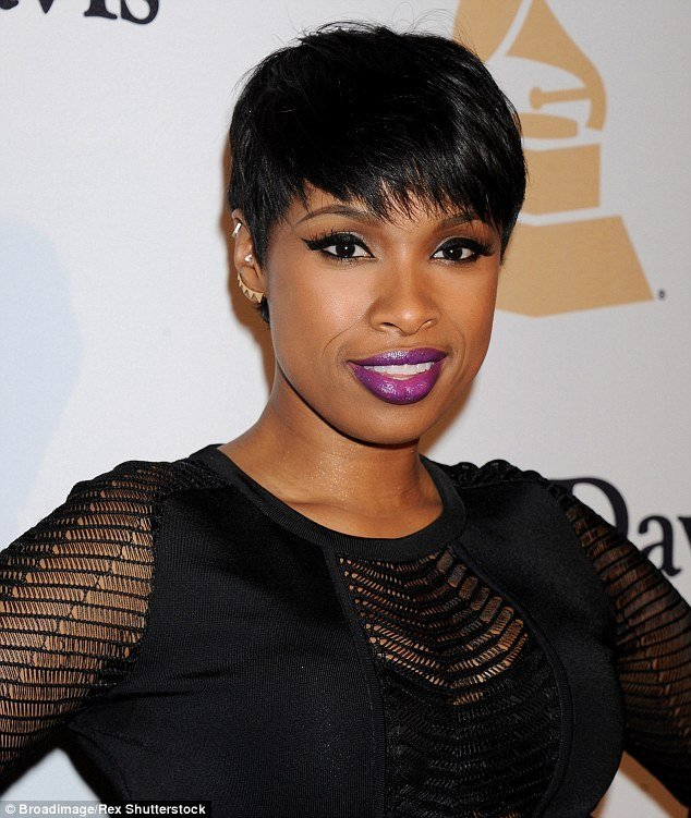 New Jennifer Hudson Debuts New Buzz Cut Hairstyle Ideas With Pictures