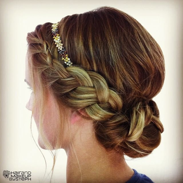 New Easy Breezy Beautiful Bridal Updos Onewed Ideas With Pictures