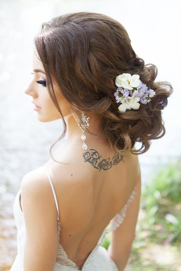 New Wedding Hairstyles For A Gorgeous Wavy Look Modwedding Ideas With Pictures
