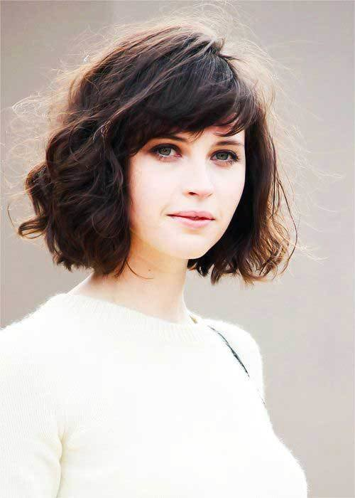 New 15 Messy Bob With Bangs Bob Hairstyles 2018 Short Ideas With Pictures Original 1024 x 768