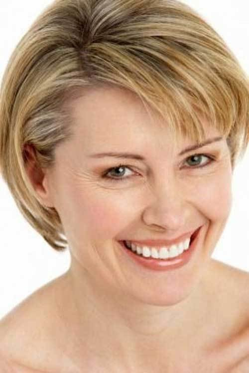 New Short Straight Hairstyles For Fine Hair Short Hairstyles Ideas With Pictures