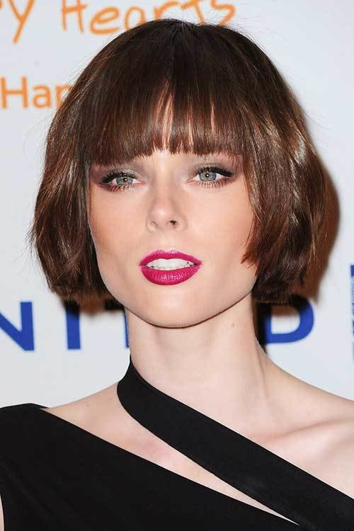 New Short Straight Hairstyles With Bangs Short Hairstyles Ideas With Pictures