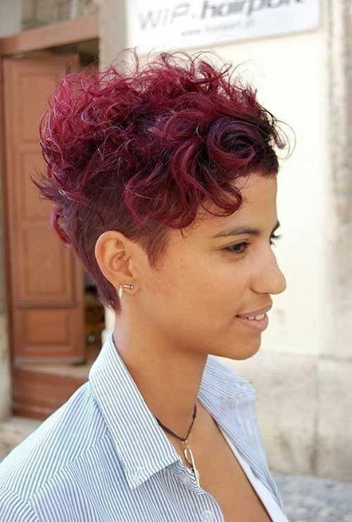 New 15 Cute Curly Hairstyles For Short Hair Short Ideas With Pictures