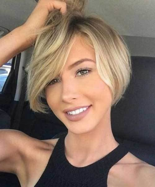 New Short Haircuts For Round Face Shape Short Hairstyles Ideas With Pictures