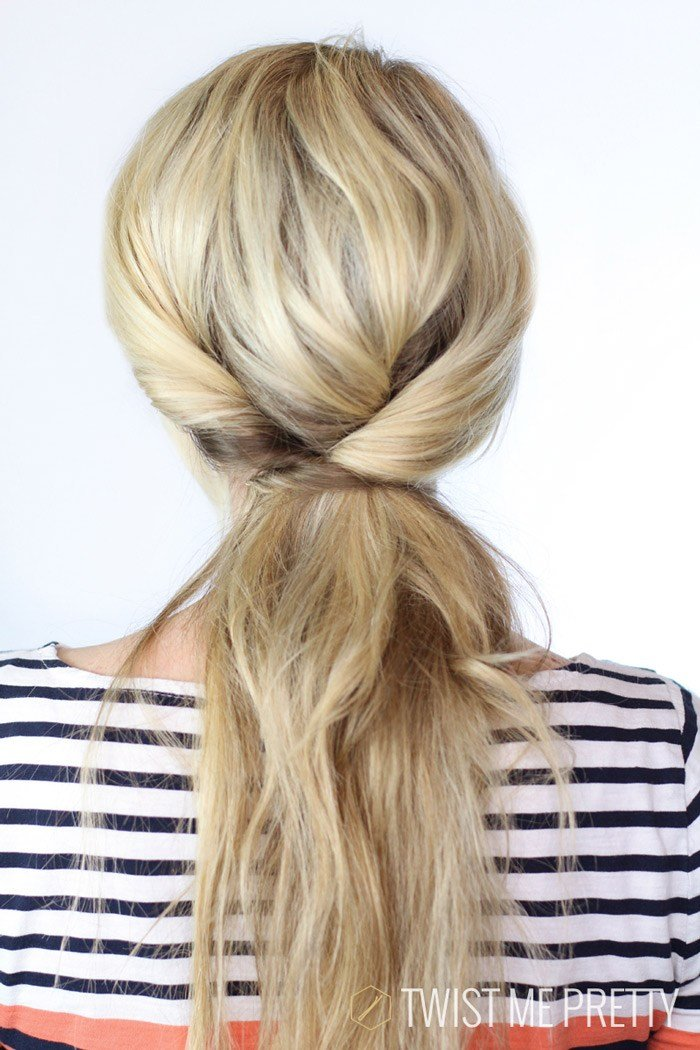 New Triple Twisted Ponytail Day 4 Twist Me Pretty Ideas With Pictures