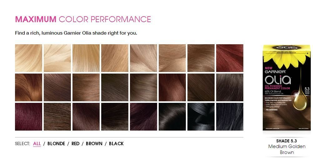 New Garnier Olia Hair Coloring Product Review Dearcreatives Ideas With Pictures
