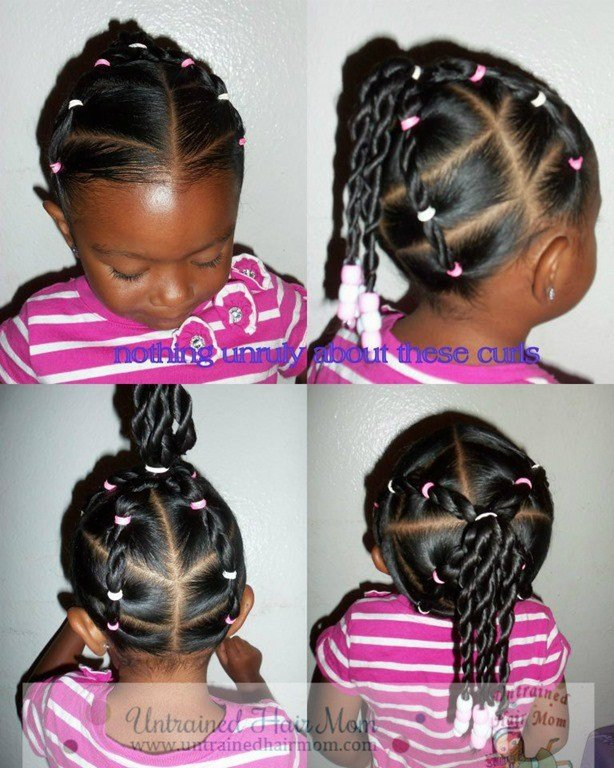 New 5 Easy Creative Natural Hairstyles Ideas With Pictures