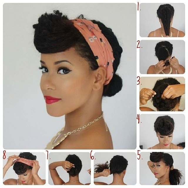 New Love For Curly Hair Retro Updos Curlyhair Pinup Ideas With Pictures
