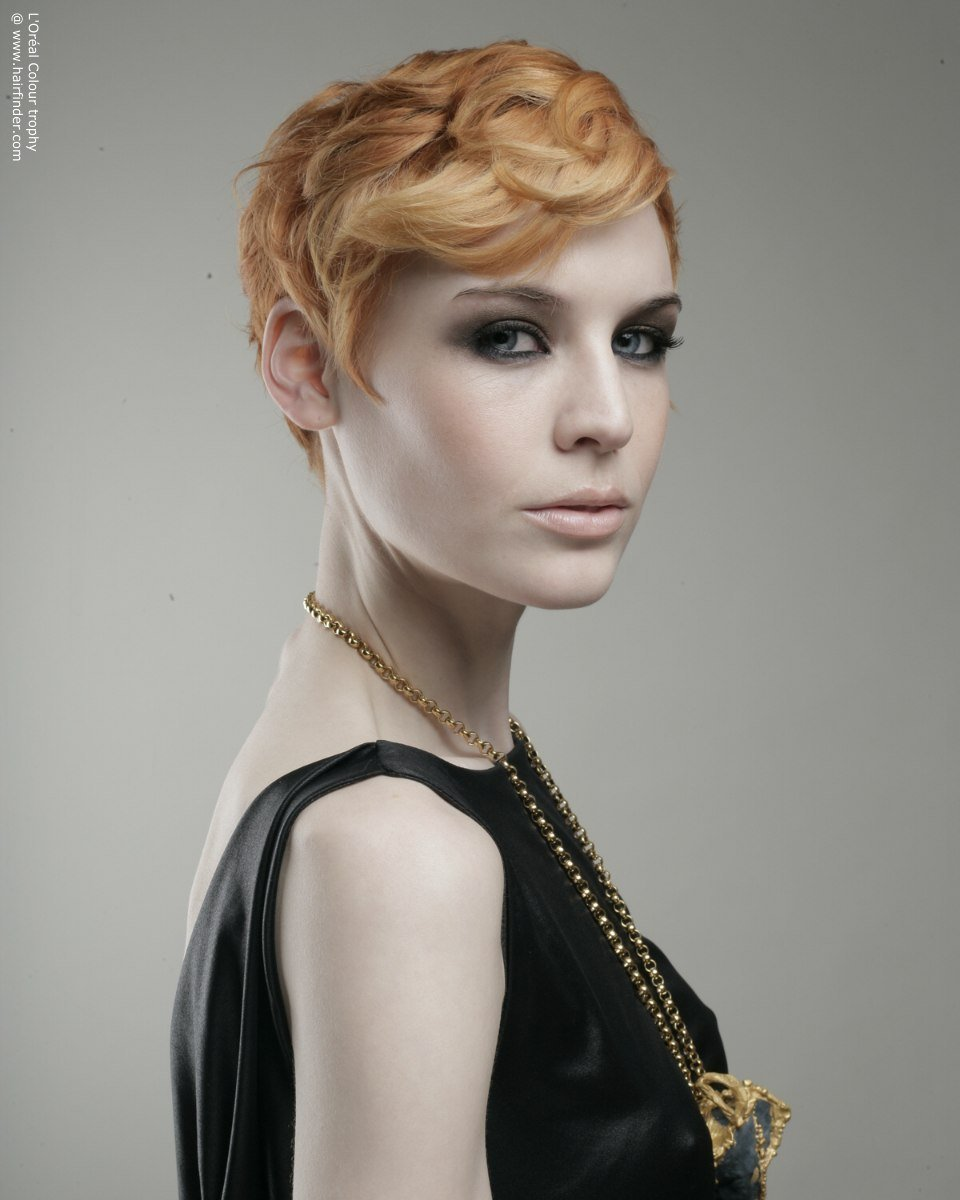 New Short 1920S Flapper Girl Haircut With A Hair Colour That Ideas With Pictures