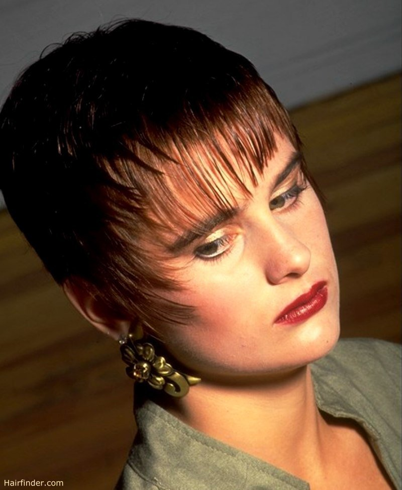 New Short Gelled Hair With Bangs Ideas With Pictures