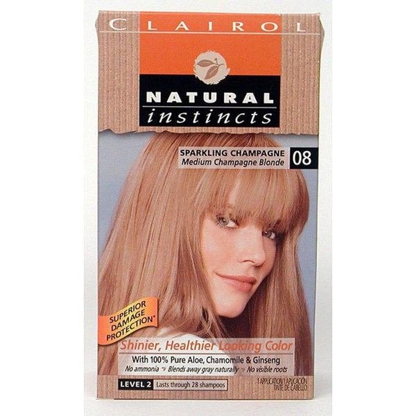 New Clairol Natural Instincts 08 Sparkling Champagne Hair Ideas With Pictures