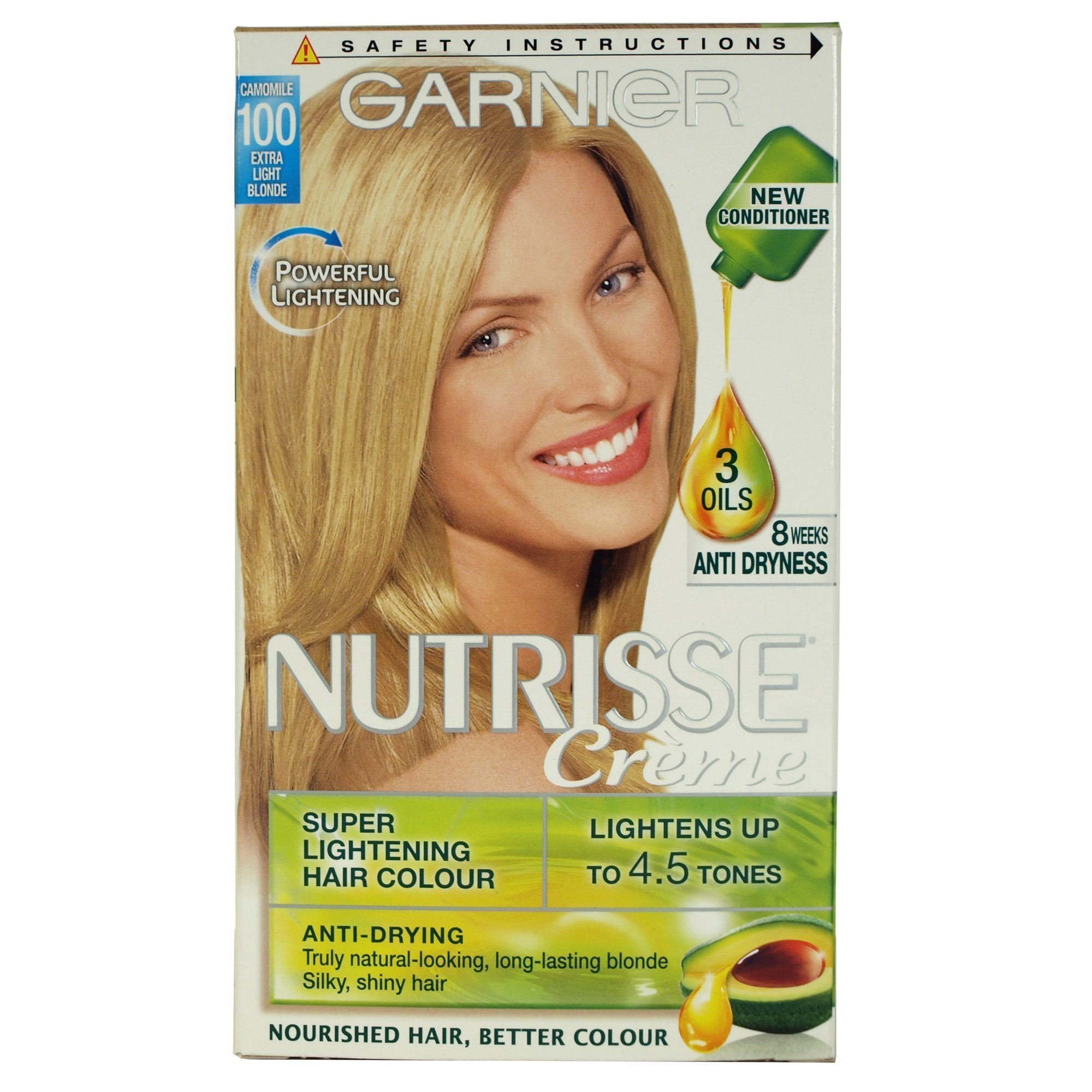New Garnier Nutrisse Creme 100 Chamomile Extra Light Blonde Ebay Ideas With Pictures