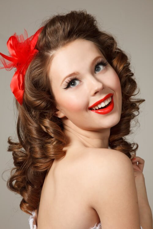 New 41 Pin Up Hairstyles That Scream Retro Chic Tutorials Ideas With Pictures
